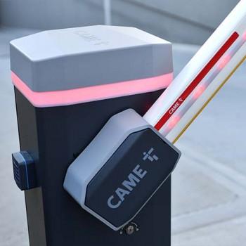 Barrera Gris GARD GT4 CON Iluminación 110V CAME (001USU0073)