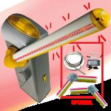 Kit de Barrera GARD4 (Brazo Iluminado y Articulación Opcional) CAME