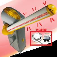 Barrera Gris GARD4 CON Iluminacion 110V CAME (001USU0011)