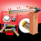 Kit de Barrera 3750 CON Brazo Iluminado (Articulación Opcional) CAME