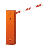 Barrera CAME naranja 110V, con Brazo Cuadrado Izquierda (001UAG4010)