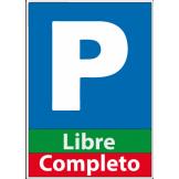 Rótulo Luminoso de Parqueo [Libre / Lleno] CAME (PSINS)