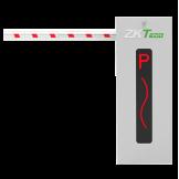 Barrera Reversible 110V con Brazo Telescópico 4.5 Mts. ZKTeco (CMP200/4.5m/L)