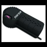 Regulador de Voltaje  Automático 1000VA/500W 4 Salidas 110V Forza (FVR-1001)